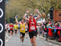 Jimmy, the London Marathon and a whole load of pain