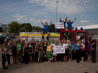 Stage 1: An amazing reception in Transcom Vilnius